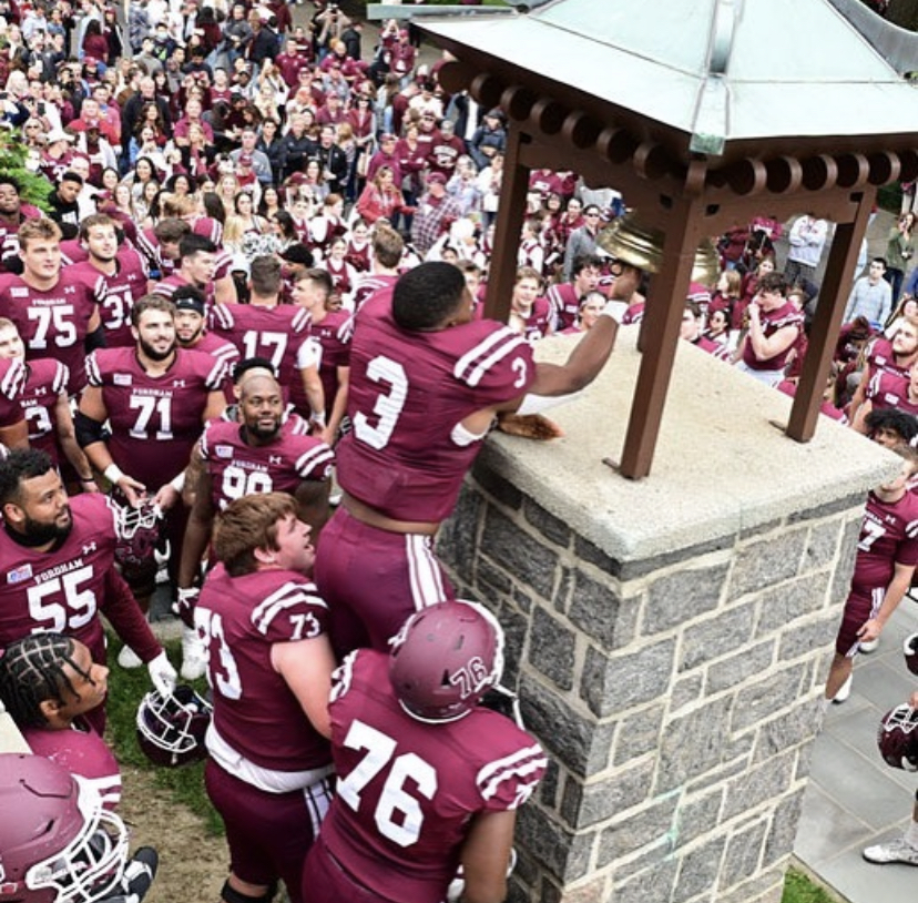 Fordham Univeritys football team won their homecoming game against Wagner College. (Courtesy of Instagram)