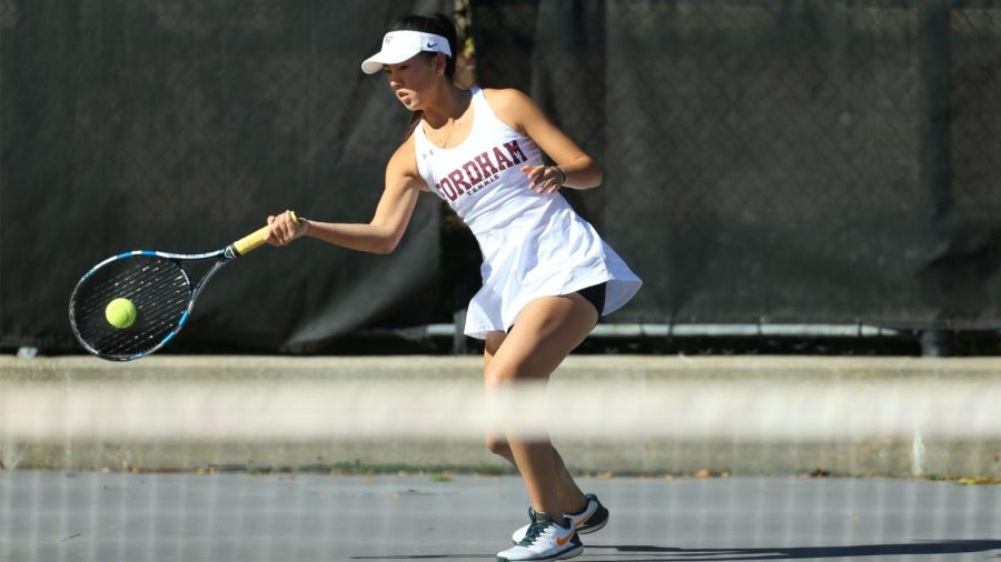 Li (above) will be one of the teams core leaders during this transitional season. (Courtesy of Fordham Athletics)
