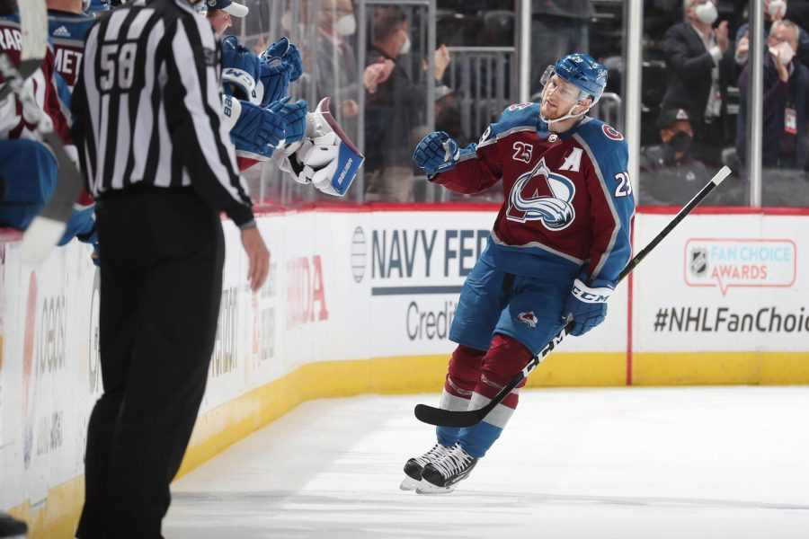 Nathan MacKinnon hopes to lead the Avalanche to a Stanley Cup this season. (Courtesy of Twitter)