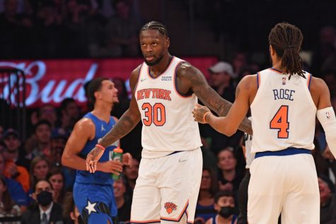 Randle looks to build on an All-NBA, All-Star season to lead the Knicks to even greater heights. (Courtesy of Twitter)