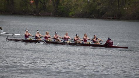 Fordham Rowing Gains Momentum at the Head of the Charles