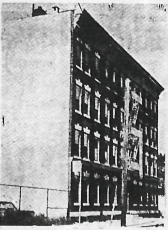 Photograph of the original Bensalem College building on E. 191st Street. (Courtesy of the Fordham Library)