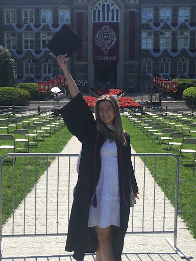 Lindsey Sullivan, GSAS '22, makes political waves at Rose Hill. (courtesy of Lindsay Sullivan)