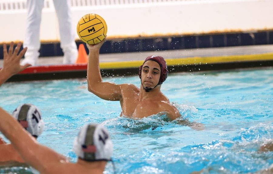 Water Polo again demonstrates their dominance, this time on the West Coast. (Courtesy of Fordham Athletics)