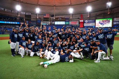 The Rays topped the East again and will look to return to the World Series as well. (Courtesy of Twitter)