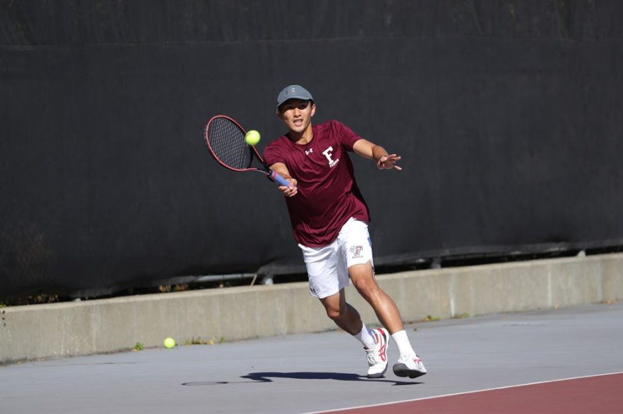 Kobayashi was one of Fordhams standout performers in Poughkeepsie. (Courtesy of Fordham Athletics)
