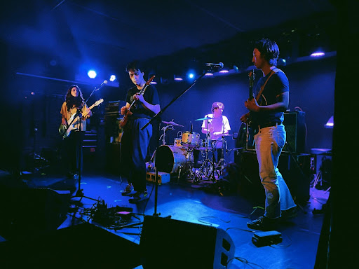 Faculty performed at the Mercury Lounge on Sunday Oct. 10. (Courtesy of Chris Capuano for The Fordham Ram)