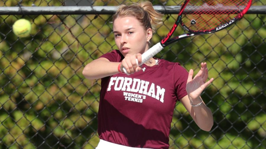 Deminova remains a key place the Rams will look toward in the full season this spring. (Courtesy of Fordham Athletics)