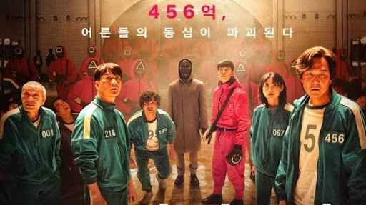 """The Korean Netflix show """"Squid Game"""" has been critiqued for mistranslation in the English subtitles. (Courtesy of Facebook)"""
